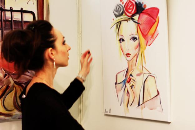 Ася Олл выставки в Париже