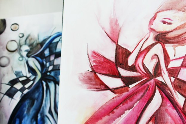 Asya All peinture artiste